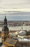 View of Riga town, Latvia Royalty Free Stock Images