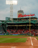View of the right field in Fenway Park. Royalty Free Stock Photos