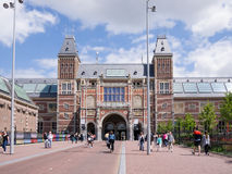 View of Rijksmuseum, Amsterdam Stock Image