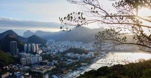 View of Rio de Janeiro. Rio de Janeiro, as seen from Sugarloaf Mountain Royalty Free Stock Images