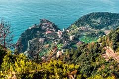 View of Riomaggiore Royalty Free Stock Photos