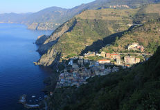 View of Riomaggiore, Cinque Terre Royalty Free Stock Photography