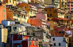 View of Riomaggiore, Cinque Terre national park, Liguria, Italy Stock Photography