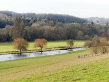 View of the River Chess near Latimer stock images