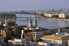 View of the river Danube Royalty Free Stock Photo