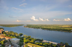 View on the river Don, Rostov-on-Don Stock Photo