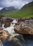 River Etive, Glen Etive, Scotland. Royalty Free Stock Photography