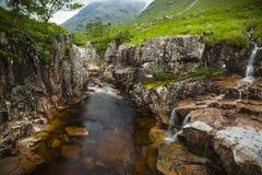 River Etive, Glen Etive, Scotland. Stock Image