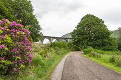 Finnan Viaduct Royalty Free Stock Photo