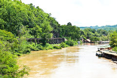 View on the River Kwai Stock Image