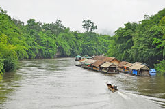View of the River Kwai Royalty Free Stock Images