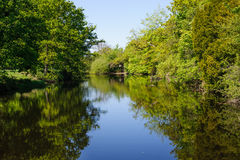View on the river Liffey Stock Photo