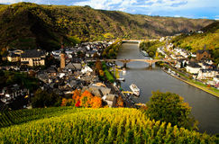 View on river Mosel Royalty Free Stock Image