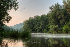 View of the river Seversky Donets Royalty Free Stock Images