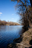View of the river Seversky Donets Stock Photography