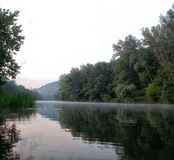 View of the river Seversky Donets Stock Images