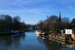 View of the River Thames Stock Photography