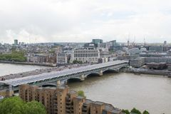 A view of Thames river. Stock Photography