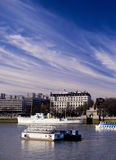 View of the river thames london Royalty Free Stock Image