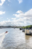 View of River Thames, London Royalty Free Stock Images