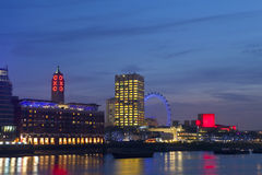 View of the River Thames Royalty Free Stock Image