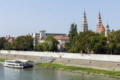 Tisza at Szeged royalty free stock photos