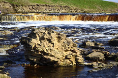 View of the river Tosna Royalty Free Stock Photos