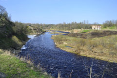 View of the river Tosna Stock Image