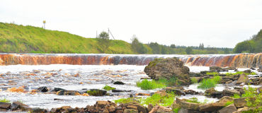 View of the river Tosna. Stock Images