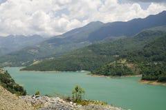 Wild river in Turkey, Alanya Royalty Free Stock Photography