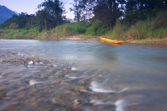 View of river in vangvieng III Royalty Free Stock Images