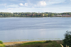 View of the river Volga Stock Image