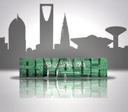 View of Riyadh Royalty Free Stock Photography