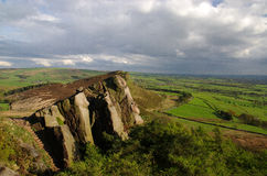 View from the Roaches England Royalty Free Stock Photography