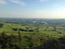 View from The Roaches, Peak District Royalty Free Stock Photography