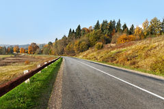View of the road. Royalty Free Stock Images