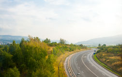 View on a road in Germany Royalty Free Stock Images