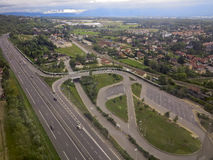 View of road system Stock Photos
