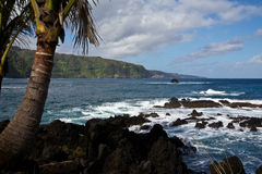 View of the Road to Hana Royalty Free Stock Photo