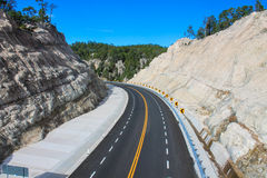 View of the road on top Royalty Free Stock Photos