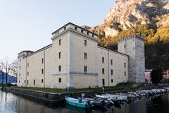 Castle in Italy royalty free stock images