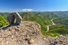 View from Rocche del Reopasso Royalty Free Stock Images
