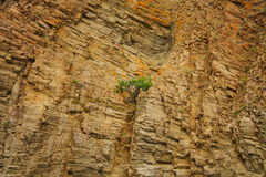 View of rock formations Royalty Free Stock Images