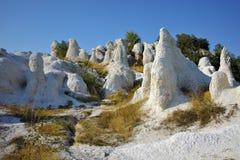 View of Rock phenomenon Stone Wedding near town of Kardzhali, Bulgaria Stock Photo