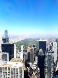 View from the Rockefeller Top of the Rock Stock Images