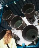 View of Rocket Boosters Stock Image