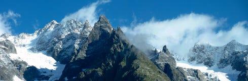 View of rocky ridges Stock Photo