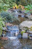 Rocky Streem 4. A view of a rocky stream in Seatac, Washington Stock Images