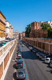 View of the Roman street Royalty Free Stock Image