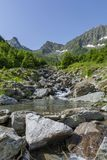 View from Romanian Carpathian Mountains Royalty Free Stock Photo